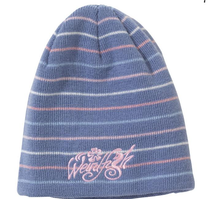 Weird Fish Girls Tula Stripy Beanie