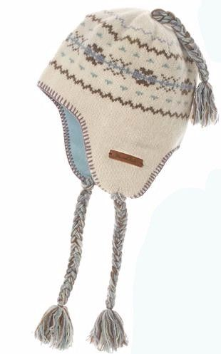 Weird Fish Ladies Coyo Knitted Mongolian Hat